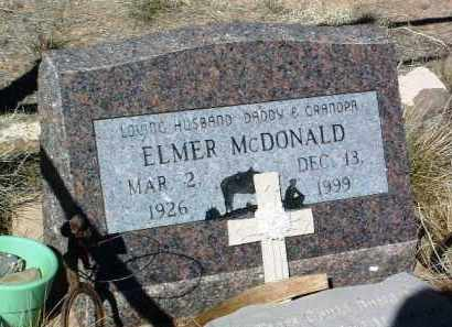 MCDONALD, ELMER - Yavapai County, Arizona | ELMER MCDONALD - Arizona Gravestone Photos