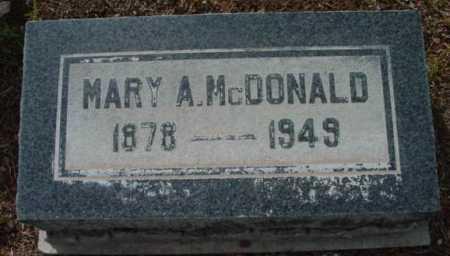 JENKINS MCDONALD, MARY - Yavapai County, Arizona | MARY JENKINS MCDONALD - Arizona Gravestone Photos