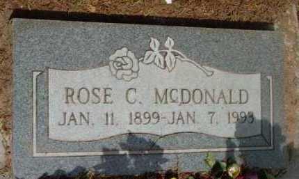 MCDONALD, ROSE CHRISTINE - Yavapai County, Arizona | ROSE CHRISTINE MCDONALD - Arizona Gravestone Photos