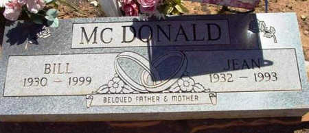 MCDONALD, WILLIAM EVERETT - Yavapai County, Arizona | WILLIAM EVERETT MCDONALD - Arizona Gravestone Photos