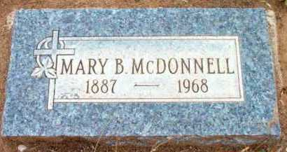 MCDONNELL, MARY B. - Yavapai County, Arizona | MARY B. MCDONNELL - Arizona Gravestone Photos