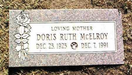 MCELROY, DORIS RUTH - Yavapai County, Arizona | DORIS RUTH MCELROY - Arizona Gravestone Photos