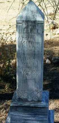 MCELROY, OSCAR - Yavapai County, Arizona | OSCAR MCELROY - Arizona Gravestone Photos