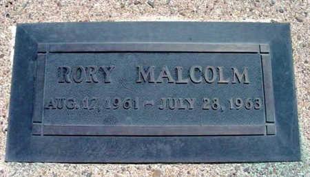 MCERLANE, RORY MALCOLM - Yavapai County, Arizona | RORY MALCOLM MCERLANE - Arizona Gravestone Photos