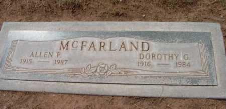MCFARLAND, DOROTHY G. - Yavapai County, Arizona | DOROTHY G. MCFARLAND - Arizona Gravestone Photos