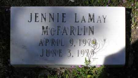 MCFARLIN, JENNIE LAMAY - Yavapai County, Arizona | JENNIE LAMAY MCFARLIN - Arizona Gravestone Photos