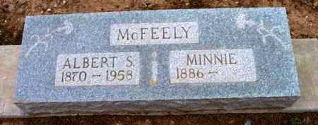 MCFEELY, ALBERT S. - Yavapai County, Arizona   ALBERT S. MCFEELY - Arizona Gravestone Photos