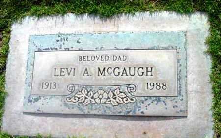 MCGAUGH, LEVI ALONZO - Yavapai County, Arizona | LEVI ALONZO MCGAUGH - Arizona Gravestone Photos