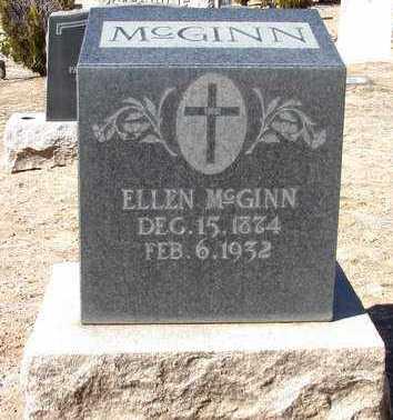MCGINN, ELLEN - Yavapai County, Arizona | ELLEN MCGINN - Arizona Gravestone Photos