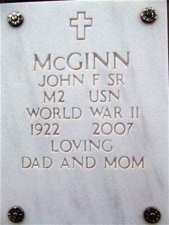 MCGINN, JOSEPH FRANCIS - Yavapai County, Arizona | JOSEPH FRANCIS MCGINN - Arizona Gravestone Photos