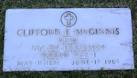 MCGINNIS, CLIFFORD  E. - Yavapai County, Arizona | CLIFFORD  E. MCGINNIS - Arizona Gravestone Photos