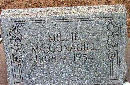 MCGONAGILL, MILLIE O'LEAN - Yavapai County, Arizona | MILLIE O'LEAN MCGONAGILL - Arizona Gravestone Photos