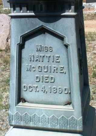 MCGUIRE, NATTIE - Yavapai County, Arizona   NATTIE MCGUIRE - Arizona Gravestone Photos