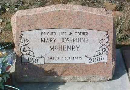 MCHENRY, MARY JOSEPHINE - Yavapai County, Arizona | MARY JOSEPHINE MCHENRY - Arizona Gravestone Photos