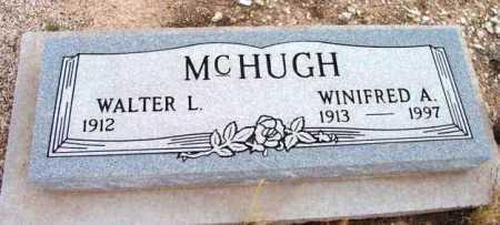 MCHUGH, WINIFRED A. - Yavapai County, Arizona | WINIFRED A. MCHUGH - Arizona Gravestone Photos