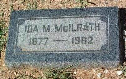 MCILRATH, IDA M. - Yavapai County, Arizona | IDA M. MCILRATH - Arizona Gravestone Photos