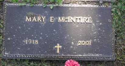 MCINTIRE, MARY E. - Yavapai County, Arizona | MARY E. MCINTIRE - Arizona Gravestone Photos