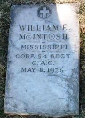 MCINTOSH, WILLIAM ERNEST - Yavapai County, Arizona | WILLIAM ERNEST MCINTOSH - Arizona Gravestone Photos