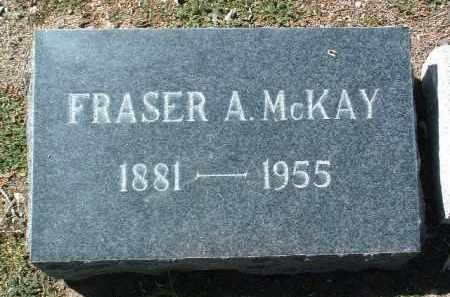 MCKAY, ALLEN FRASER - Yavapai County, Arizona   ALLEN FRASER MCKAY - Arizona Gravestone Photos