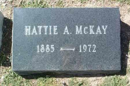 MERRITT MCKAY, HATTIE A. - Yavapai County, Arizona | HATTIE A. MERRITT MCKAY - Arizona Gravestone Photos