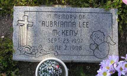 MCKENY, AUBRIANNA LEE - Yavapai County, Arizona | AUBRIANNA LEE MCKENY - Arizona Gravestone Photos
