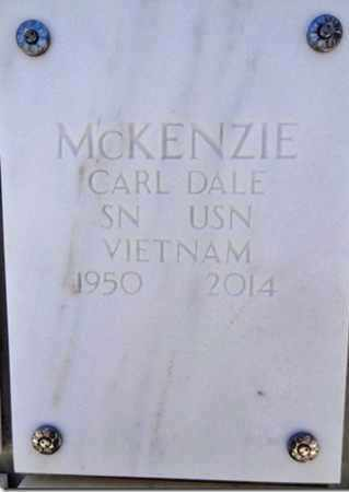 MCKENZIE, CARL DALE - Yavapai County, Arizona | CARL DALE MCKENZIE - Arizona Gravestone Photos