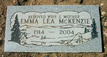 MCKENZIE, EMMA LEA - Yavapai County, Arizona | EMMA LEA MCKENZIE - Arizona Gravestone Photos