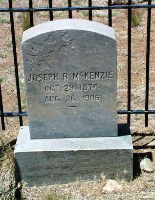 MCKENZIE, JOSEPH R. - Yavapai County, Arizona   JOSEPH R. MCKENZIE - Arizona Gravestone Photos