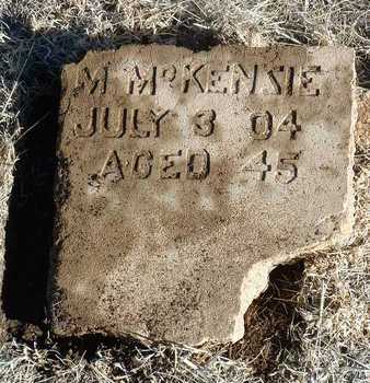 MCKENZIE, MIKE - Yavapai County, Arizona | MIKE MCKENZIE - Arizona Gravestone Photos