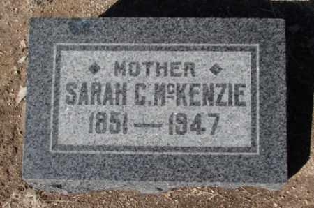 MCKENZIE, SARAH CATHERINE - Yavapai County, Arizona | SARAH CATHERINE MCKENZIE - Arizona Gravestone Photos