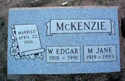 MCKENZIE, WILLIAM EDGAR - Yavapai County, Arizona | WILLIAM EDGAR MCKENZIE - Arizona Gravestone Photos