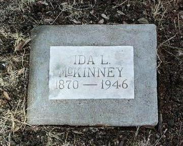 MCKINNEY, IDA L. - Yavapai County, Arizona | IDA L. MCKINNEY - Arizona Gravestone Photos