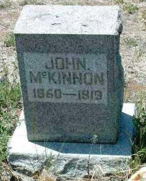 MCKINNON, JOHN - Yavapai County, Arizona | JOHN MCKINNON - Arizona Gravestone Photos