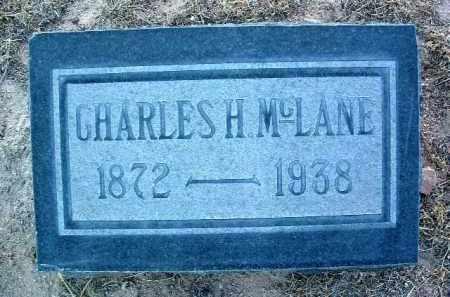 MCLANE, CHARLES HARRY - Yavapai County, Arizona | CHARLES HARRY MCLANE - Arizona Gravestone Photos