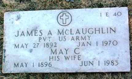 MCLAUGHLIN, MAY C. - Yavapai County, Arizona | MAY C. MCLAUGHLIN - Arizona Gravestone Photos