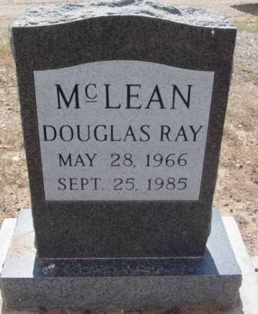 MCLEAN, DOUGLAS RAY - Yavapai County, Arizona | DOUGLAS RAY MCLEAN - Arizona Gravestone Photos