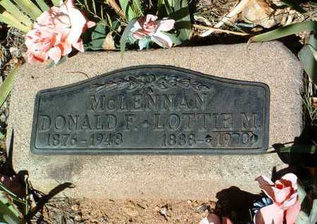 MCLENNAN, LOTTIE MAE - Yavapai County, Arizona | LOTTIE MAE MCLENNAN - Arizona Gravestone Photos