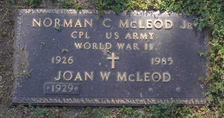 MCLEOD, JOAN W. - Yavapai County, Arizona | JOAN W. MCLEOD - Arizona Gravestone Photos