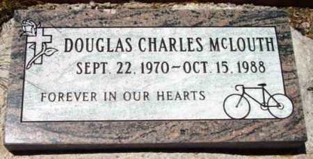 MCLOUTH, DOUGLAS CHARLES - Yavapai County, Arizona | DOUGLAS CHARLES MCLOUTH - Arizona Gravestone Photos