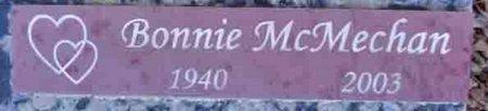 MCMECHAN, BONNIE KAY - Yavapai County, Arizona | BONNIE KAY MCMECHAN - Arizona Gravestone Photos