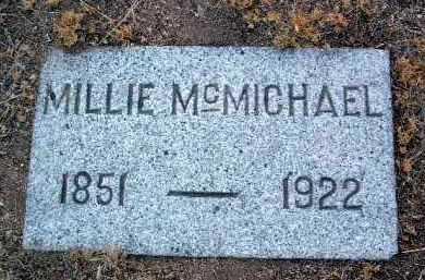 MCCANNA MCMICHAEL, M. - Yavapai County, Arizona   M. MCCANNA MCMICHAEL - Arizona Gravestone Photos