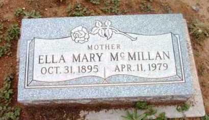 MCMILLAN, ELLA MARY - Yavapai County, Arizona | ELLA MARY MCMILLAN - Arizona Gravestone Photos