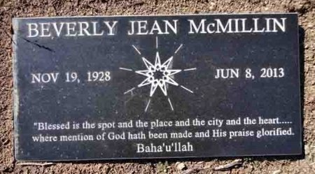 MCMILLIN, BEVERLY JEAN - Yavapai County, Arizona | BEVERLY JEAN MCMILLIN - Arizona Gravestone Photos