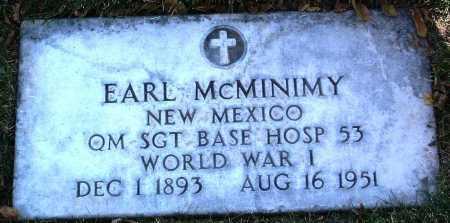 MCMINIMY, EARL - Yavapai County, Arizona   EARL MCMINIMY - Arizona Gravestone Photos