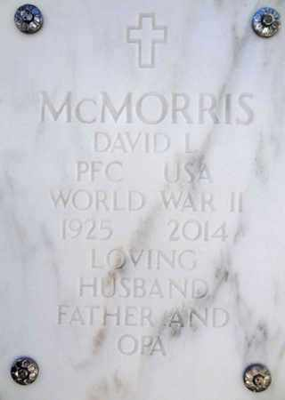 MCMORRIS, DAVID LOOMIS - Yavapai County, Arizona | DAVID LOOMIS MCMORRIS - Arizona Gravestone Photos