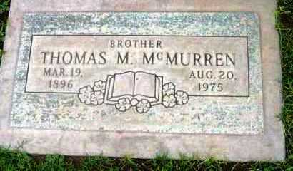 MCMURREN, THOMAS MARION - Yavapai County, Arizona | THOMAS MARION MCMURREN - Arizona Gravestone Photos