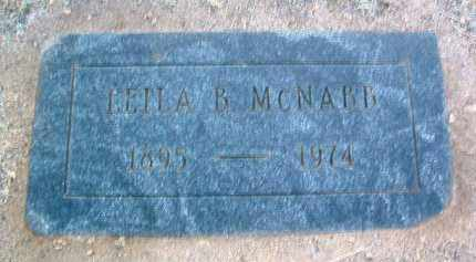 BARR MCNABB, LEILA B. - Yavapai County, Arizona | LEILA B. BARR MCNABB - Arizona Gravestone Photos