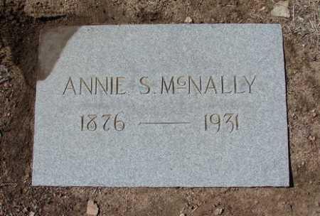 SWEENEY MCNALLY, ANNIE - Yavapai County, Arizona | ANNIE SWEENEY MCNALLY - Arizona Gravestone Photos