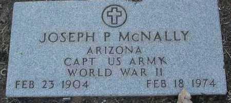 MCNALLY, JOSEPH P. - Yavapai County, Arizona   JOSEPH P. MCNALLY - Arizona Gravestone Photos