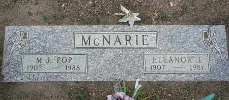 MCNARIE, ELEANOR JANE - Yavapai County, Arizona | ELEANOR JANE MCNARIE - Arizona Gravestone Photos